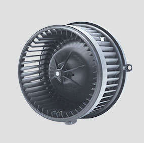 Automotive HVAC Balanced Blower Assembly