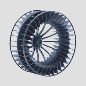 HVAC Blower Wheel for Class A Truck Applications